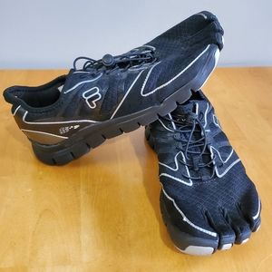 Fila Skele-Toes AMP Bare Foot Sport Shoes Size 12